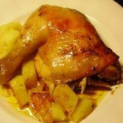Cuartos de pollo al horno | CARNES TODAS | Recetas de pollo ...