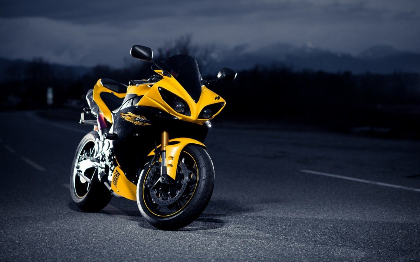 Sport Super Yamaha Bike New Hd Wallpaper Free Download Yamaha Bikes Yamaha R1 Sport Bikes