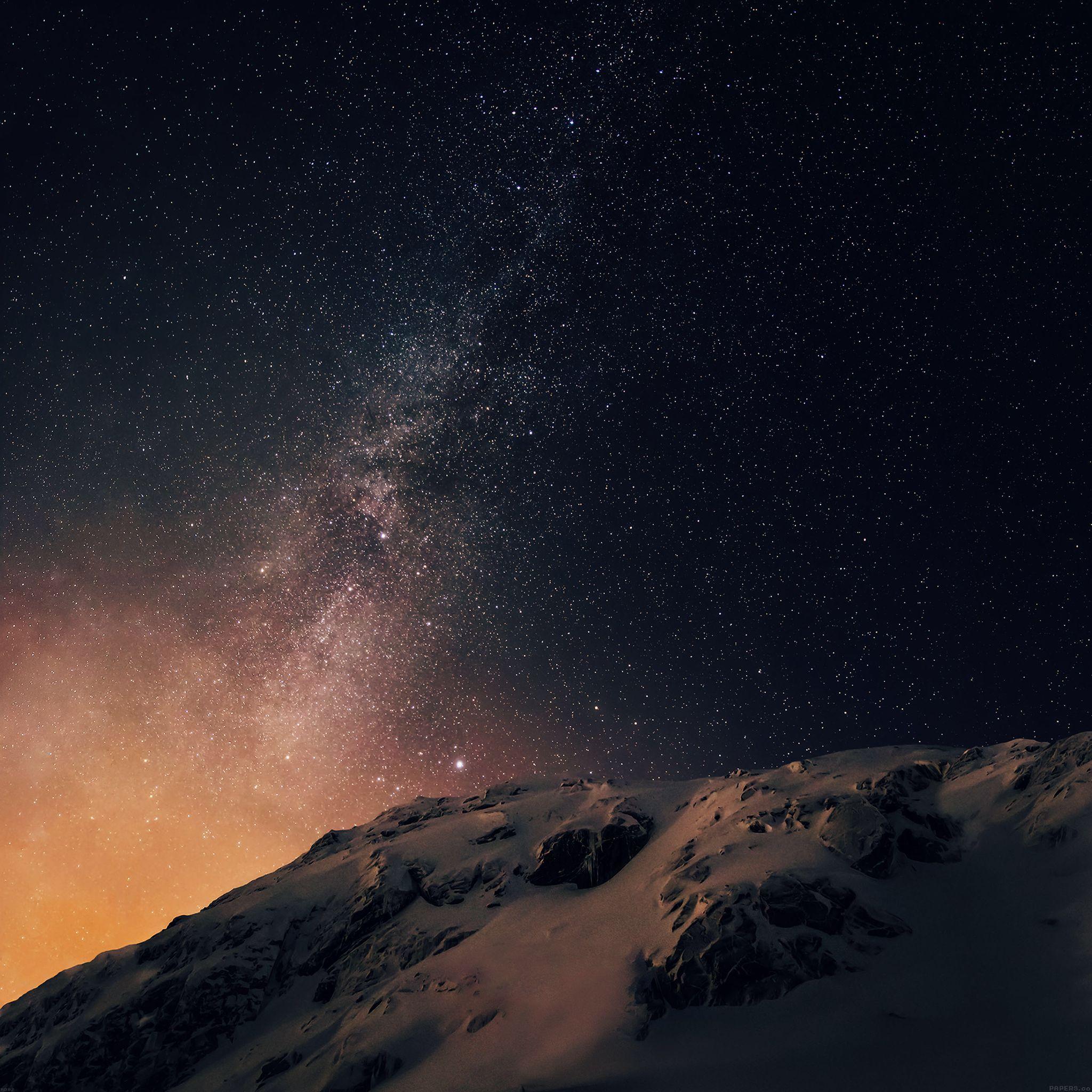 Milky Way wallpaper Starry night wallpaper, Star