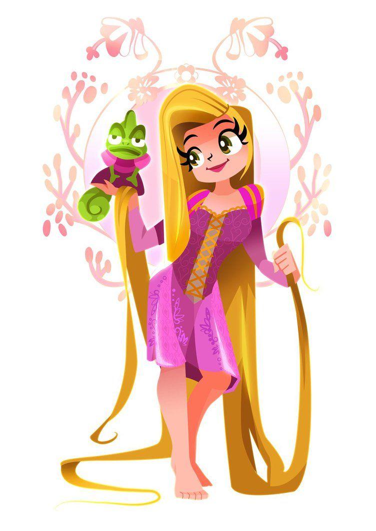 Rapunzel by mi-chie on DeviantArt