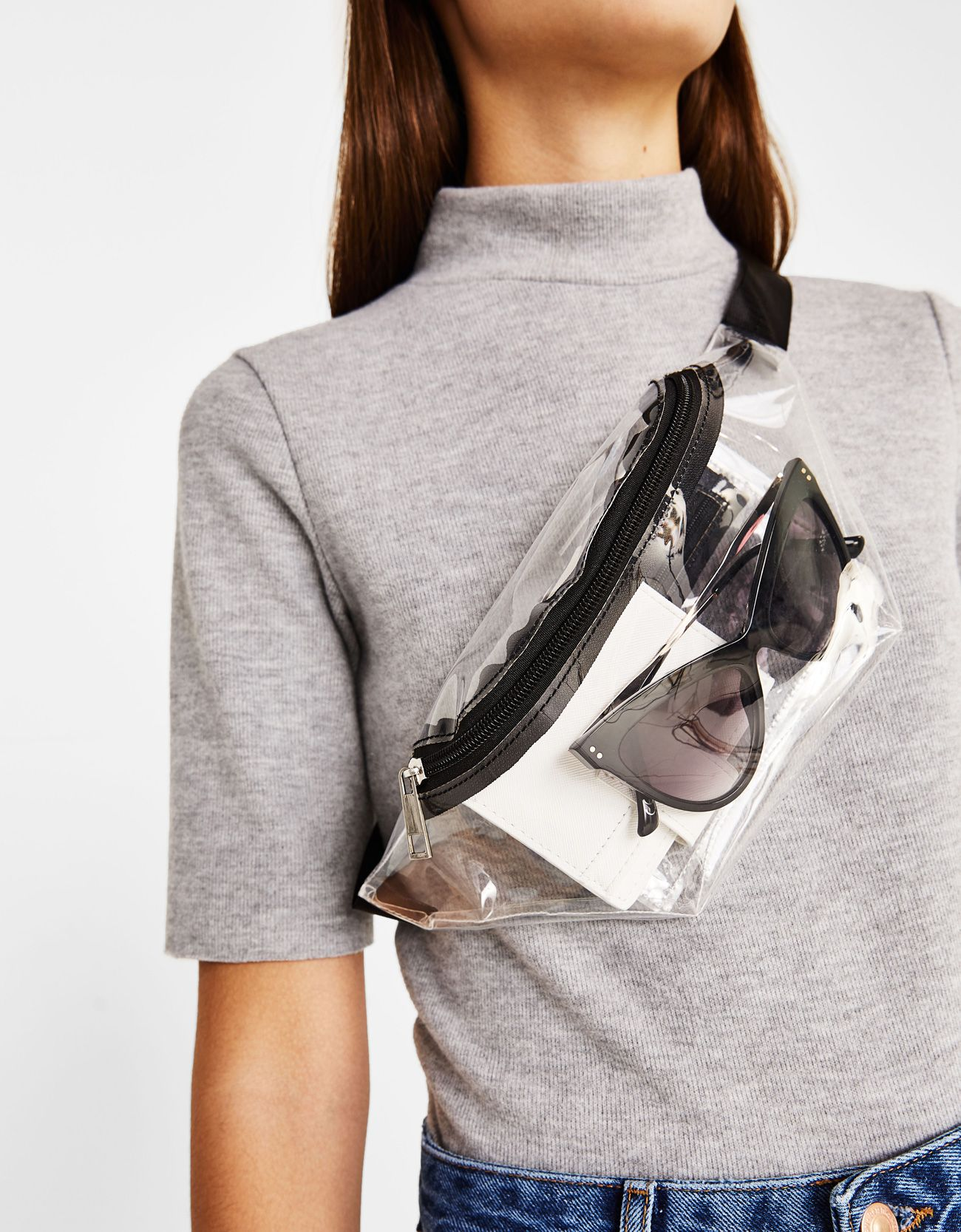bd357e845012 Clear fanny pack in 2019 | Athleisure | Bags, Hip bag, Transparent bag