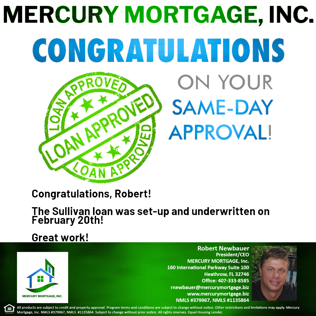 Sullivan Loan Same Day Approval Call Message Or Email Me With Any Loan Scenarios Credit Issues Etc F Same Day Loans South Florida Real Estate Mortgage