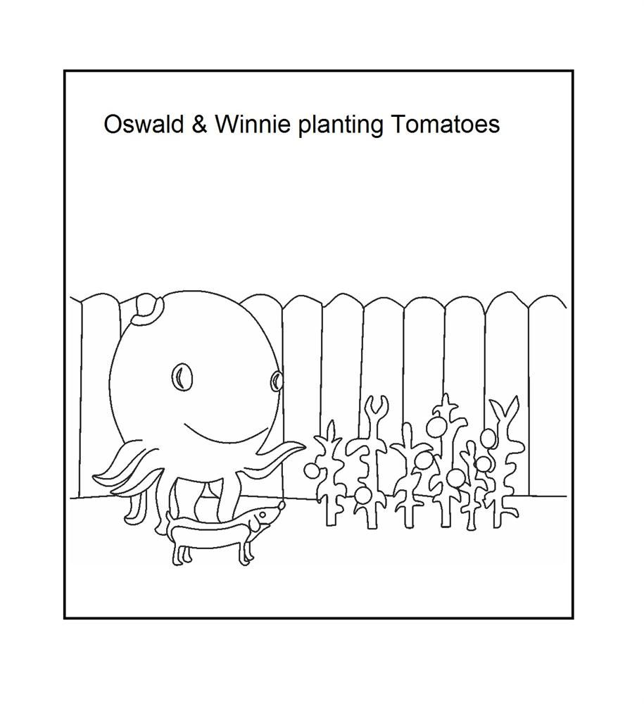 Oswald The Octopus Coloring Page Oswald The Octopus Coloring Pages