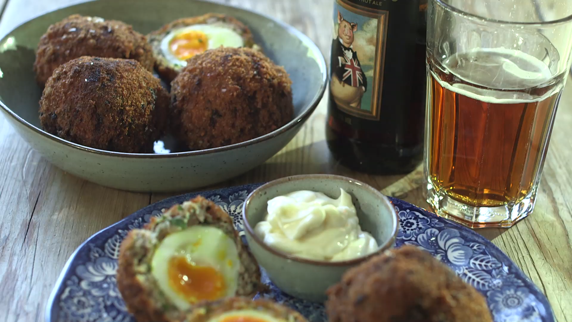 Scotch eggs recipe #scotcheggs