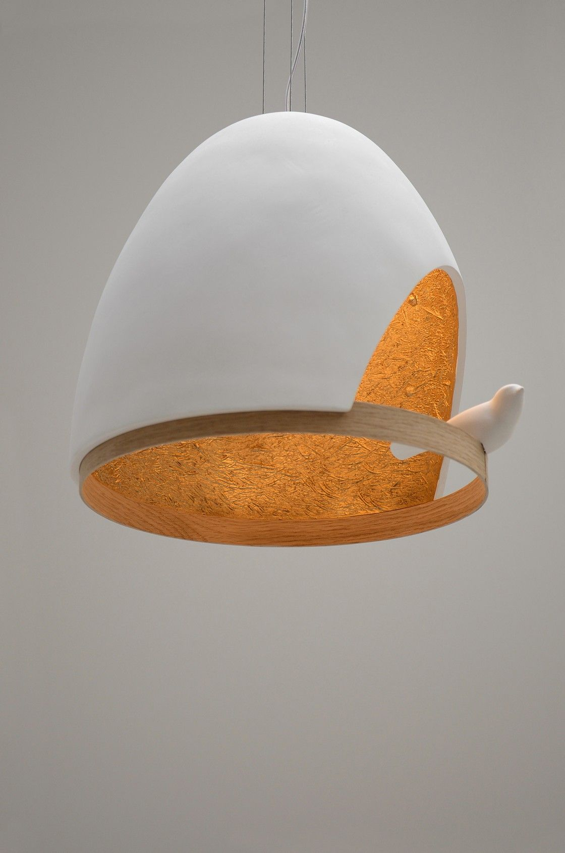 Pendant Light Lampe Oiseau By Olivier Chabaud And Jean Francois