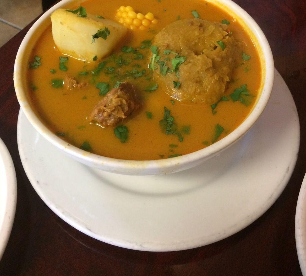 Comida típica Guayaquileña: Caldo de Bola ღ✟