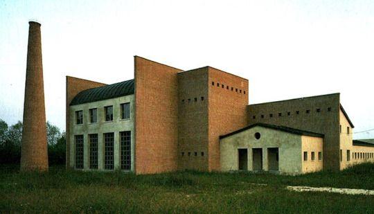 Aldo Rossi.  Town Hall at Borgoricco, 1988.