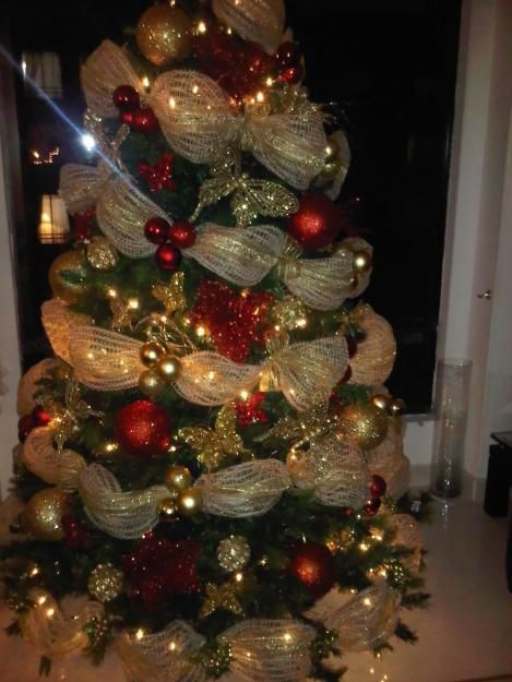 Decoracion De Arbol De Navidad 2015 Buscar Con Google Decoracion De Arboles Pinos De Navidad Decorados Decoracion Arbol De Navidad