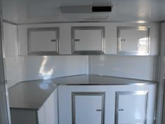 Base And Overhead Cabinets With The Generator Box Race