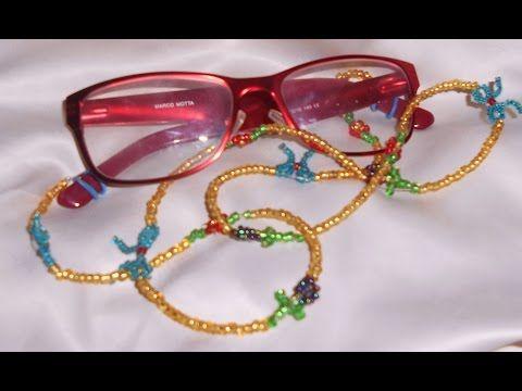1da85e37fc CORDON DE CRISTALES PARA LAS GAFAS - YouTube | Fundas gafas | Gafas ...