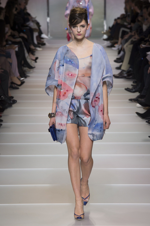 Giorgio Armani Spring 2018 Fashion Show Details | Borse in