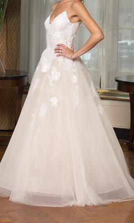 Monique Lhuillier Severine Wedding Dress Used Size 6 1 599