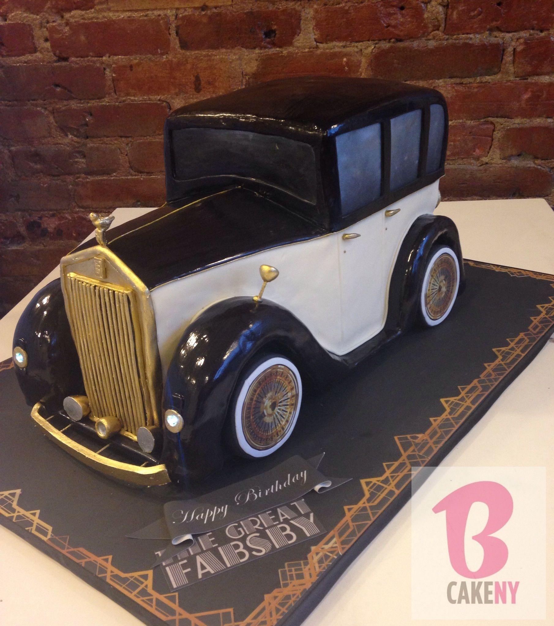 Rolls Royce Cake! | BCakeNY CAKES | Pinterest | Rolls royce, Royce ...