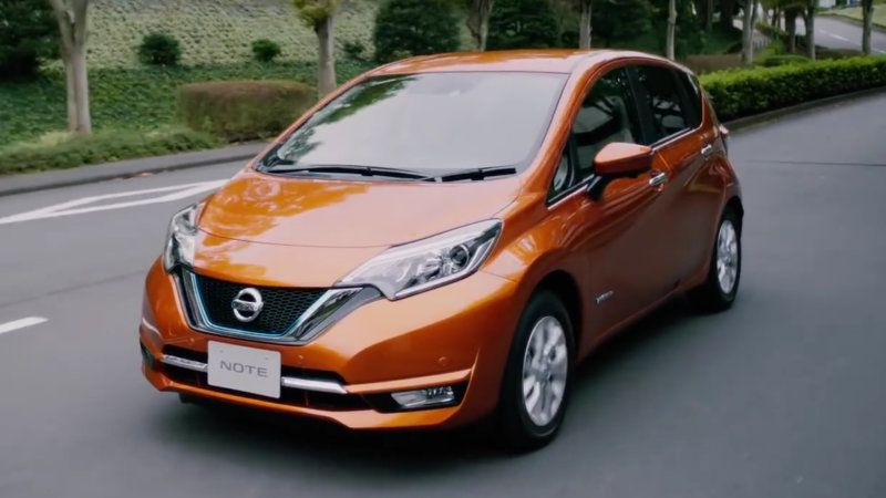 Nissan Note E Power Is An Ev That You Can T Plug In Nissan Nissan Note Nissan Cars
