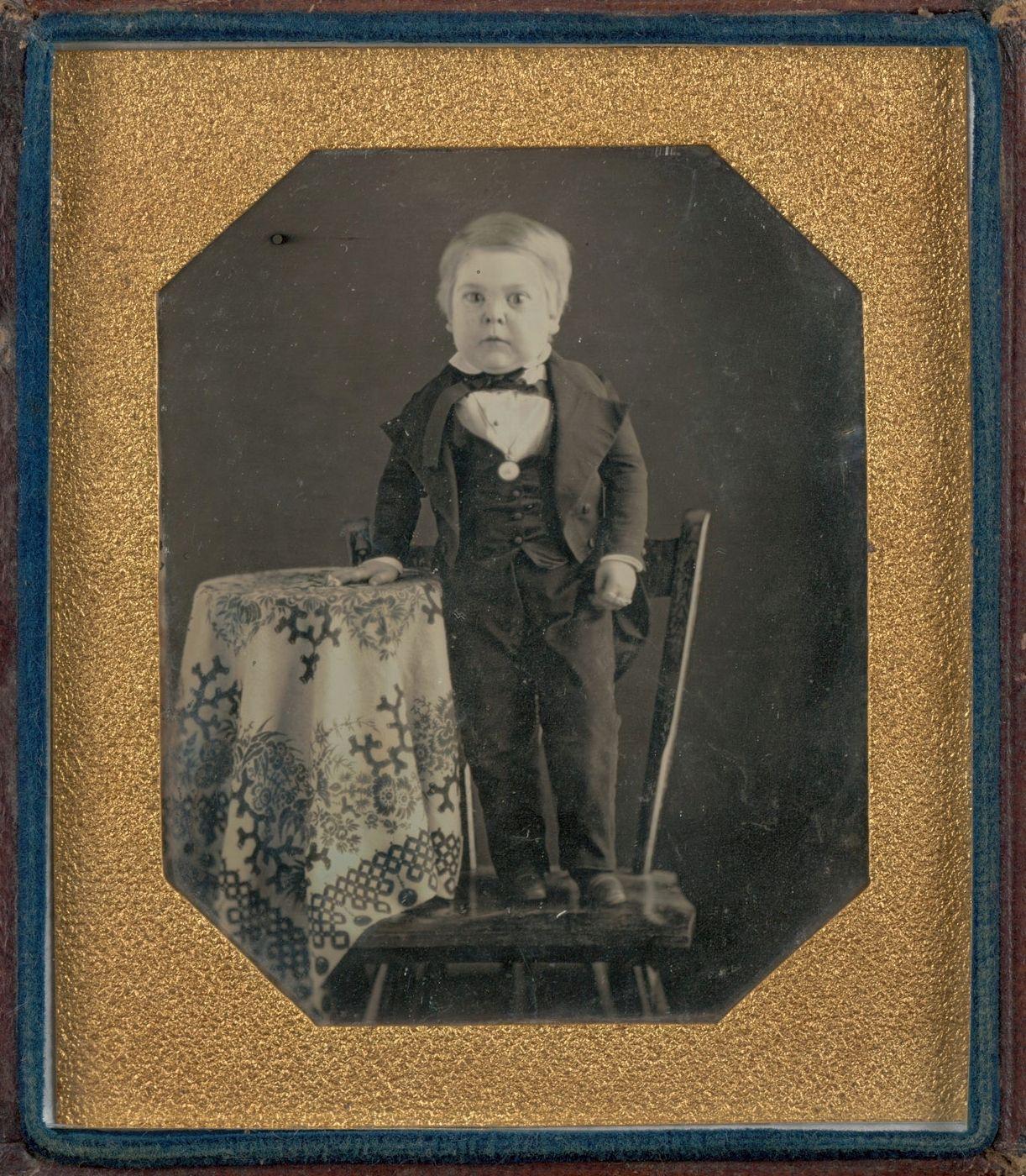 Wow great.... .Charles Sherwood Stratton) 1848 USA.