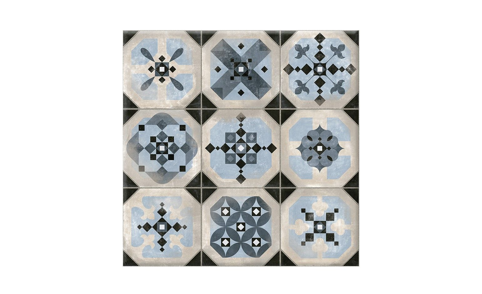 Carrelage 9decors 4 Aspect Carreau Ciment Decor Dim 31 6 X 31 6 Cm Imitation Carreaux De Ciment Carrelage Et Carreaux Ciment