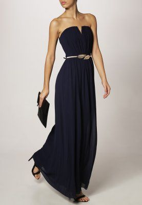 Robe Longue Bleu Nuit Zalando N2 Zalando Robe Robe