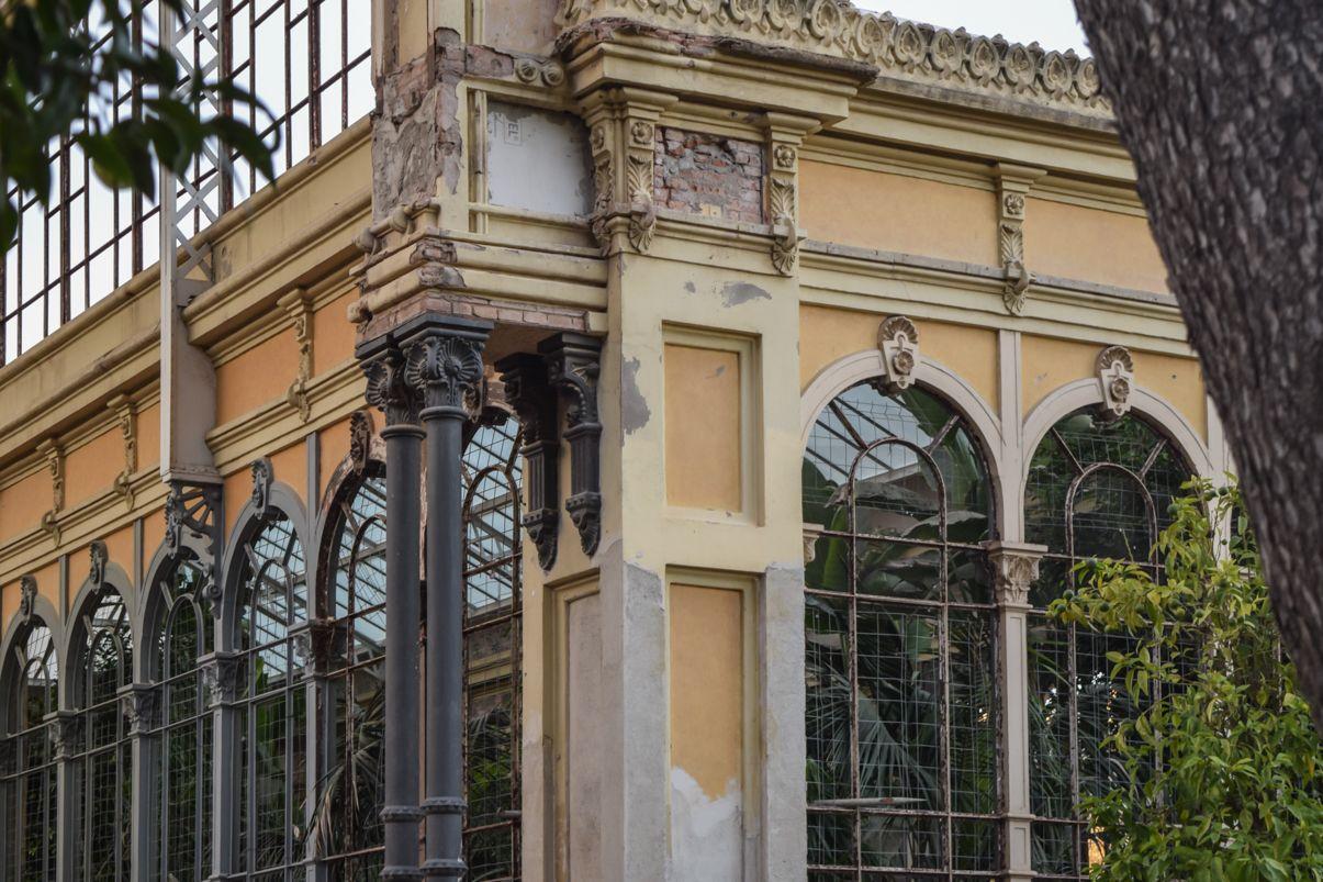 Greenhouse in Barcelona