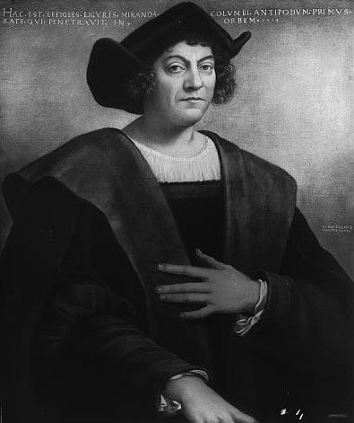 "August 3, 1492:  Columbus Sails the Ocean Blue    On this day in 1492, explorer and navigator Christopher Columbus embarked on his first of four voyages to the ""New World"" of the Americas (or what he believed to be Asia) with three ships: the Santa Maria, the Pinta, and the Santa Clara – nicknamed the Niña."