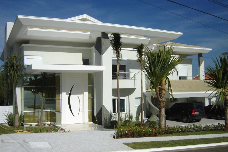 Fachadas casas modernas casas pinterest fachadas for Casas pequenas bonitas y modernas