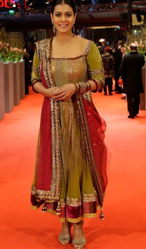 Long Anarkali Suit Inspired By Designer Manish Malhotra