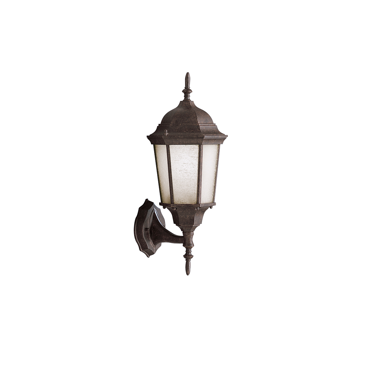 "Madison 1 light 19.5"" Outdoor Wall in Tannery Bronze finish"