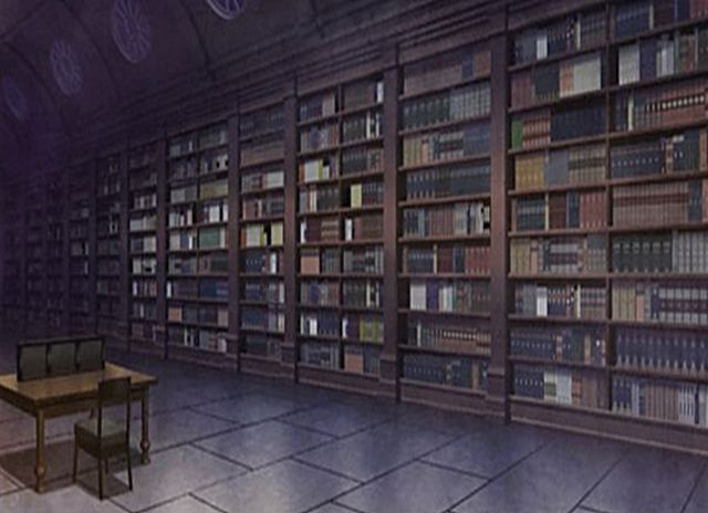 library background anime background anime scenery