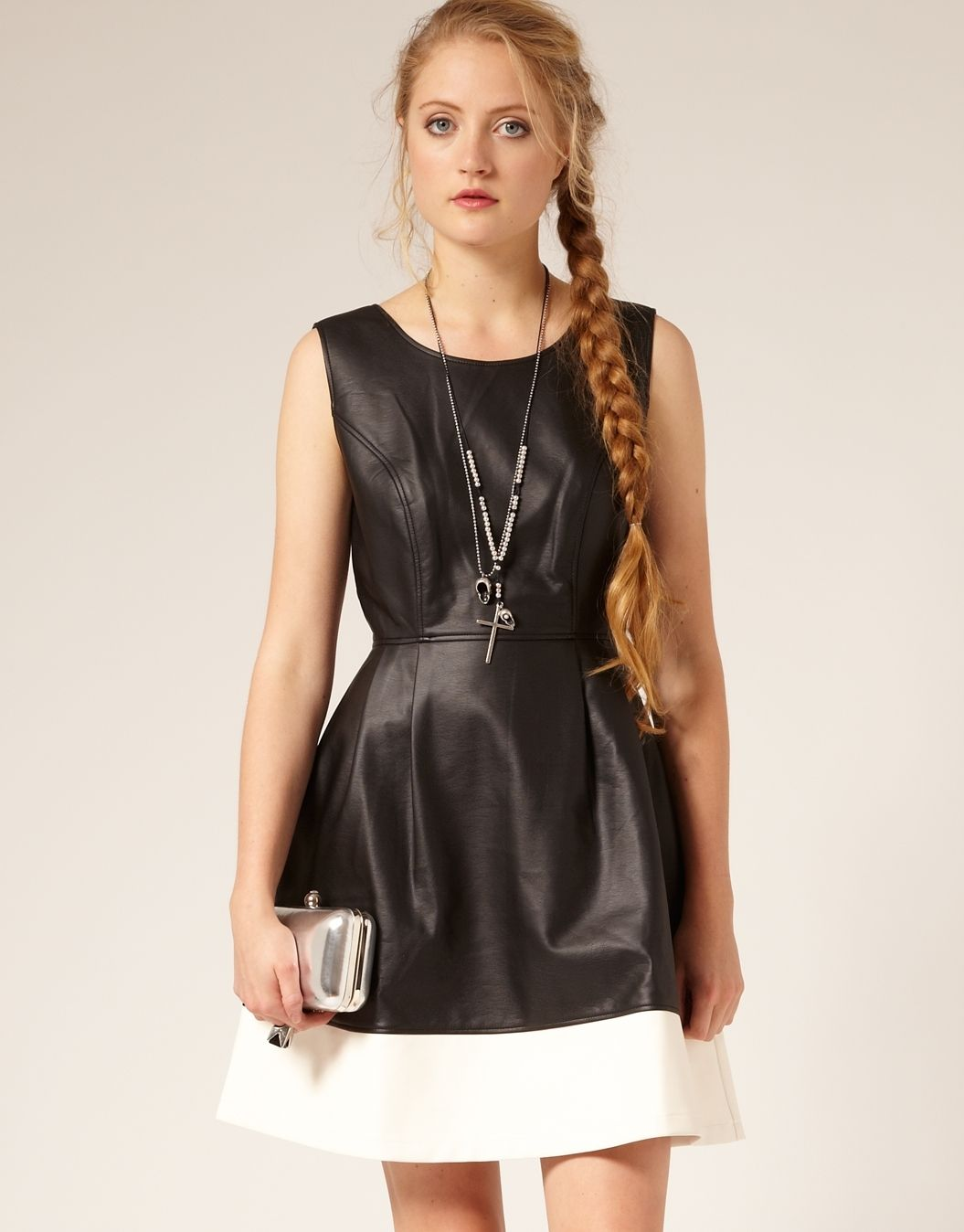 Glassons - Leather Look Dress | Leather look dress ...