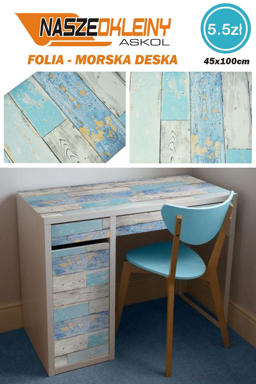Folia Samoprzylepna Morska Deska Dekoracja Pokoju W Stylu Marynarza Lub Rybaka Home Decor Corner Desk Desk
