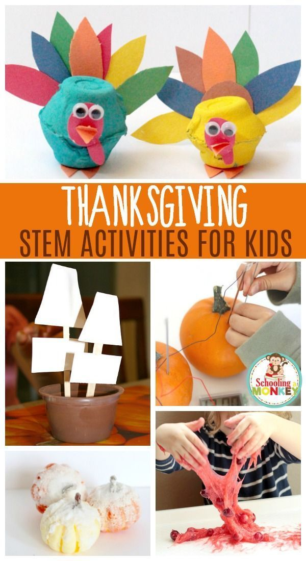 Brilliant Thanksgiving STEM Activities Kids Will Go Nuts For