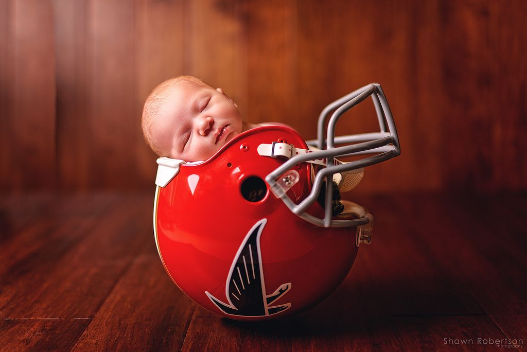 new style 1e800 d022d Newest addition to the Atlanta Falcons (Newborn session ...