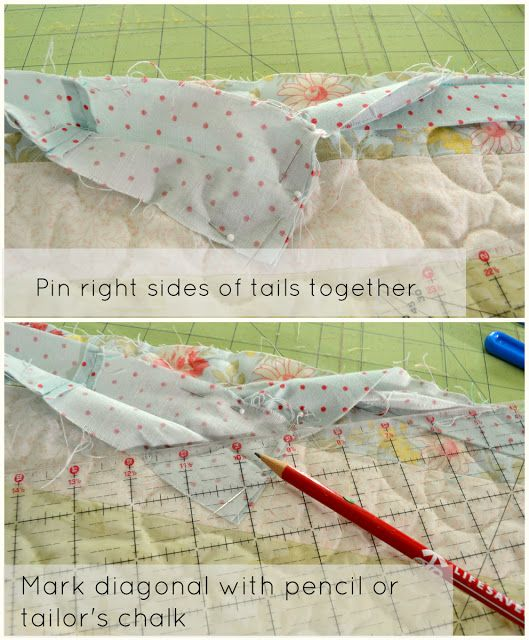 How To Bind A Quilt (Double Fold, Mitered)
