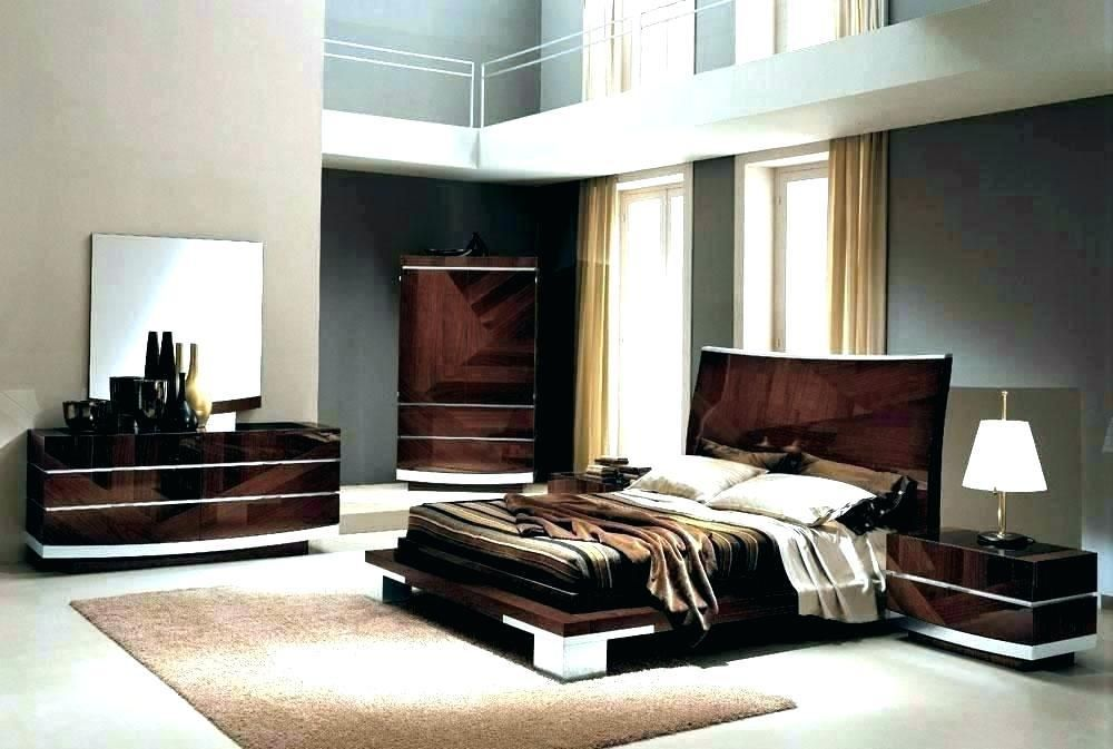 Black Modern Bedroom Furniture Design Lacquer Contemporary Sets Set Splendid High Gloss Etco