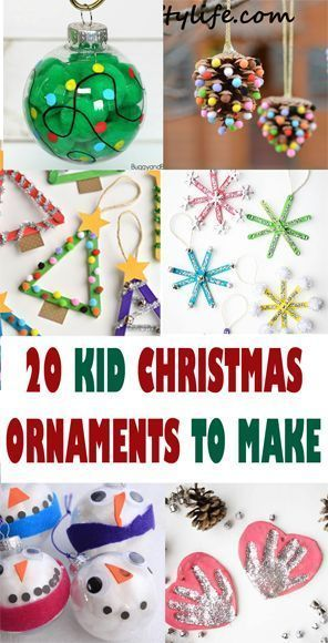 Christmas Ornament Kid Crafts – Crafting Fun - A More Crafty Life -   18 christmas crafts for kids preschool ideas