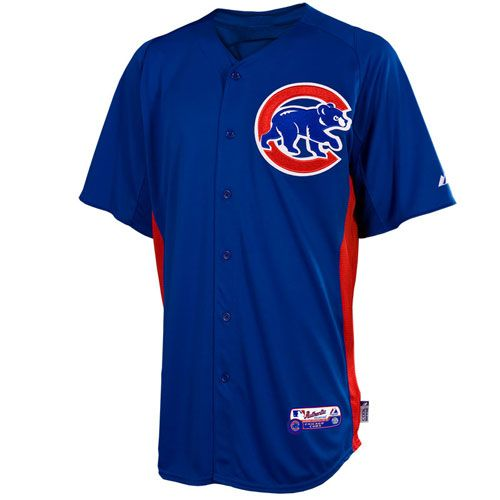 huge discount 036c8 c936c Chicago Cubs Authentic On-Field COOL BASE Batting Practice ...