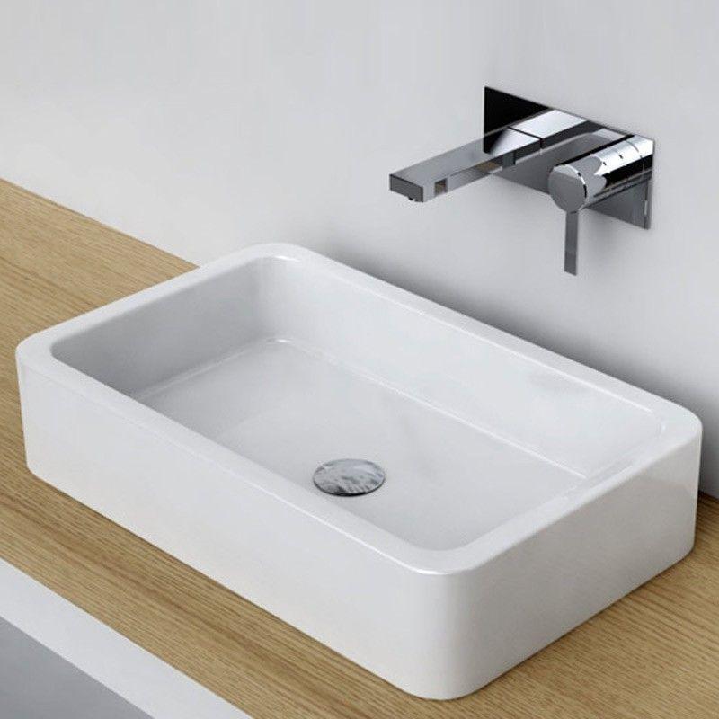 Les 25 meilleures id es de la cat gorie vasque for Salle de bain rectangulaire
