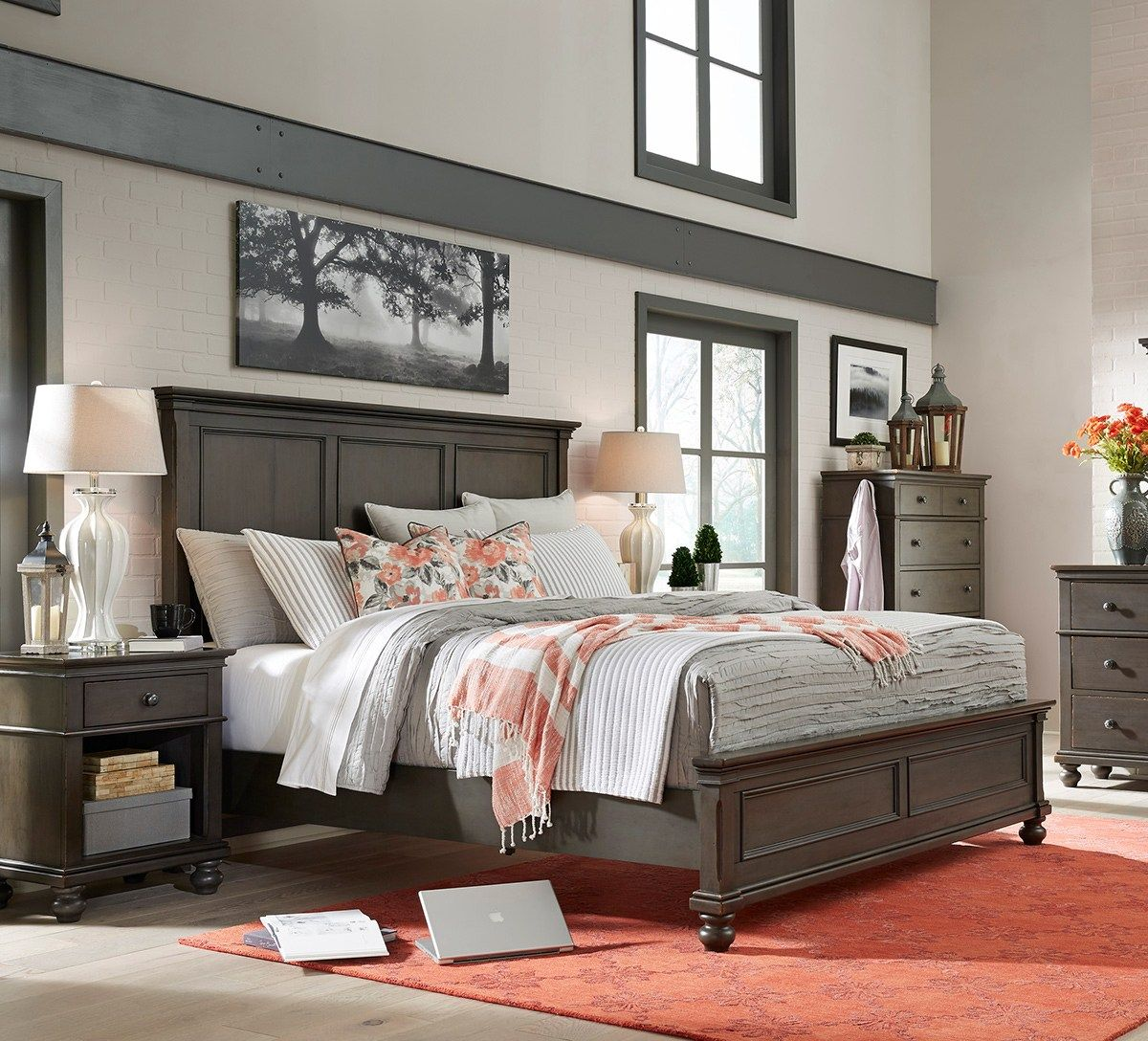 Summer Bedroom Inspiration Neutrals Coral Schneiderman S