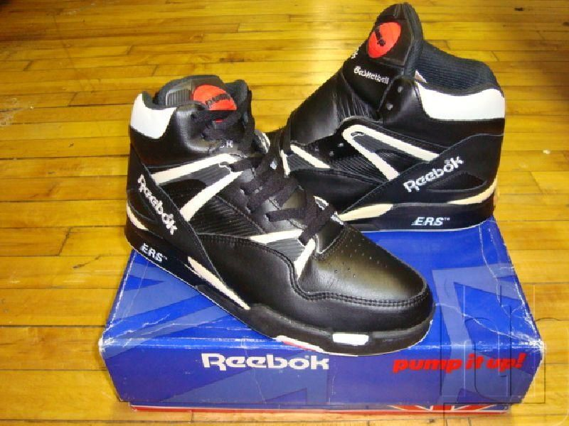 reebok pump omni zone black purple