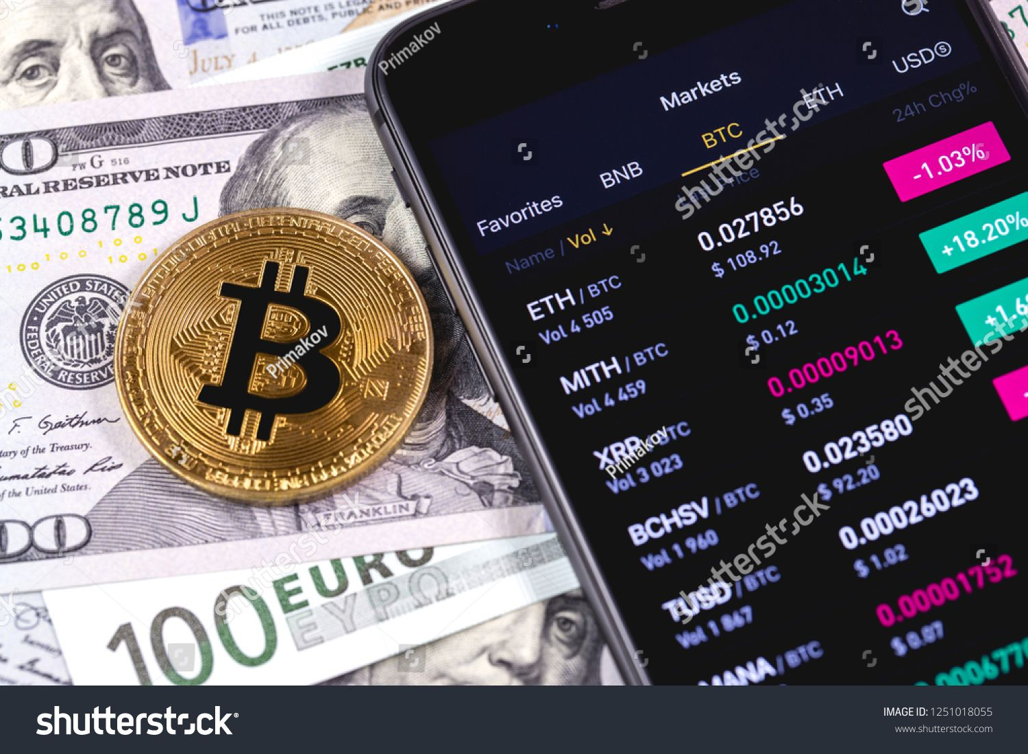 cryptocurrency on the stock market