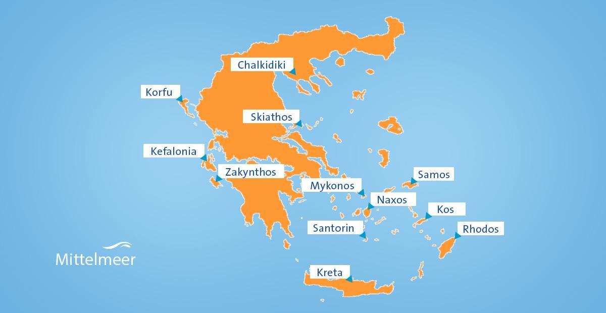 Karte Griechenland.Reisetipps Für Griechenland Kreta Athen Und Meer Erkunden In