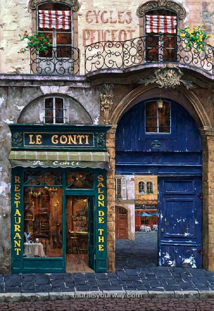 Paris i just like this street view no real ambition for Open the door salon de provence
