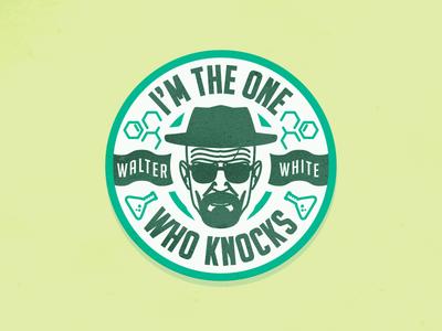 Walter White Bad Logos Graphic Design Logo Walter White