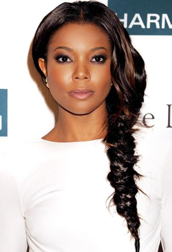 FISHTAIL BRAIDED HAIRSTYLES FOR BLACK WOMEN