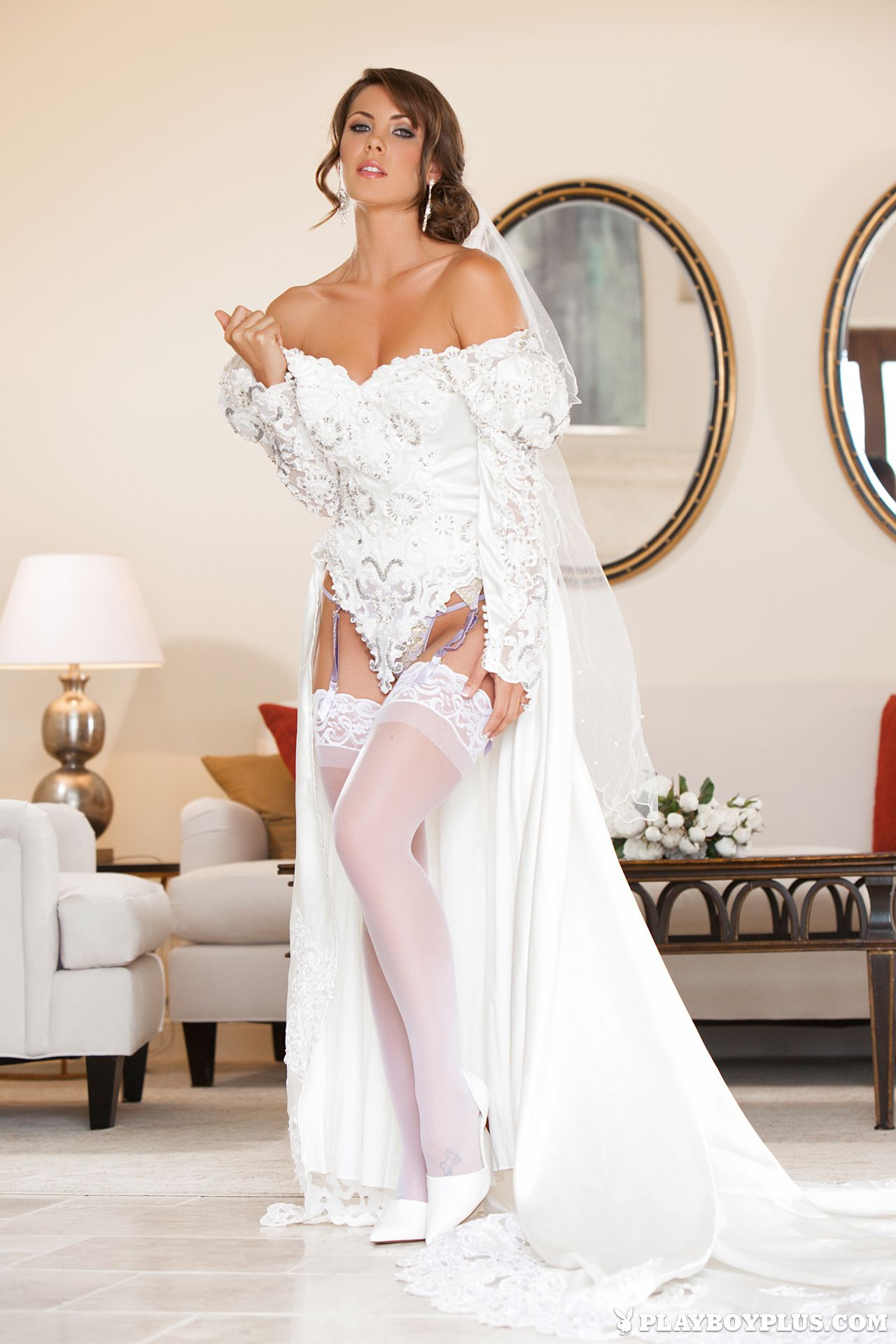 slut Sexy wedding dress