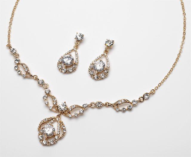 Pure Sparkle Jewelry Set Prom Prom jewelry and Jewelery