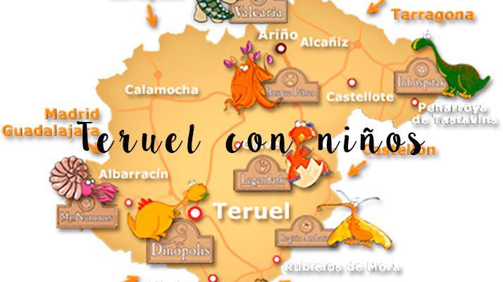 Viajar A Teruel Con Niños Diversion Para Niños Niños Viajes En Autocaravana