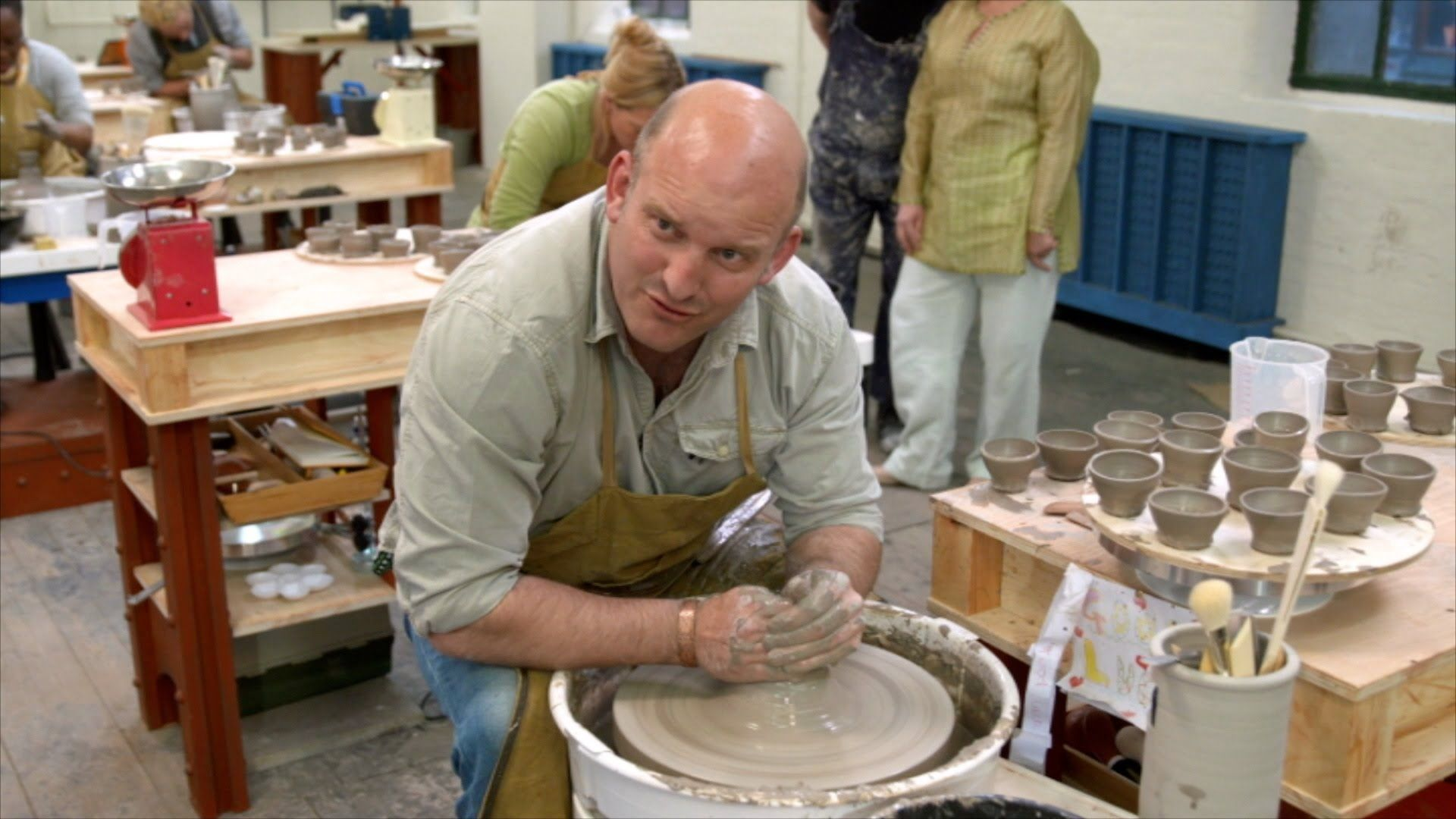 The Throw Down: Egg cups - The Great Pottery Throw Down: Episode 1 Previ