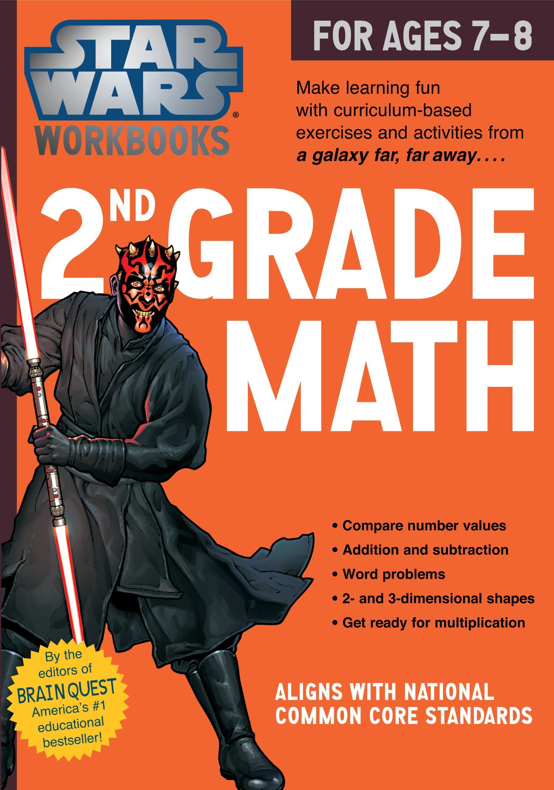 Star Wars Workbook - 2nd Grade Math | Products