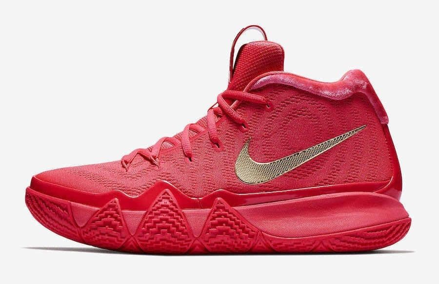 Nike Kyrie 4 Red Size 10 US Mens High