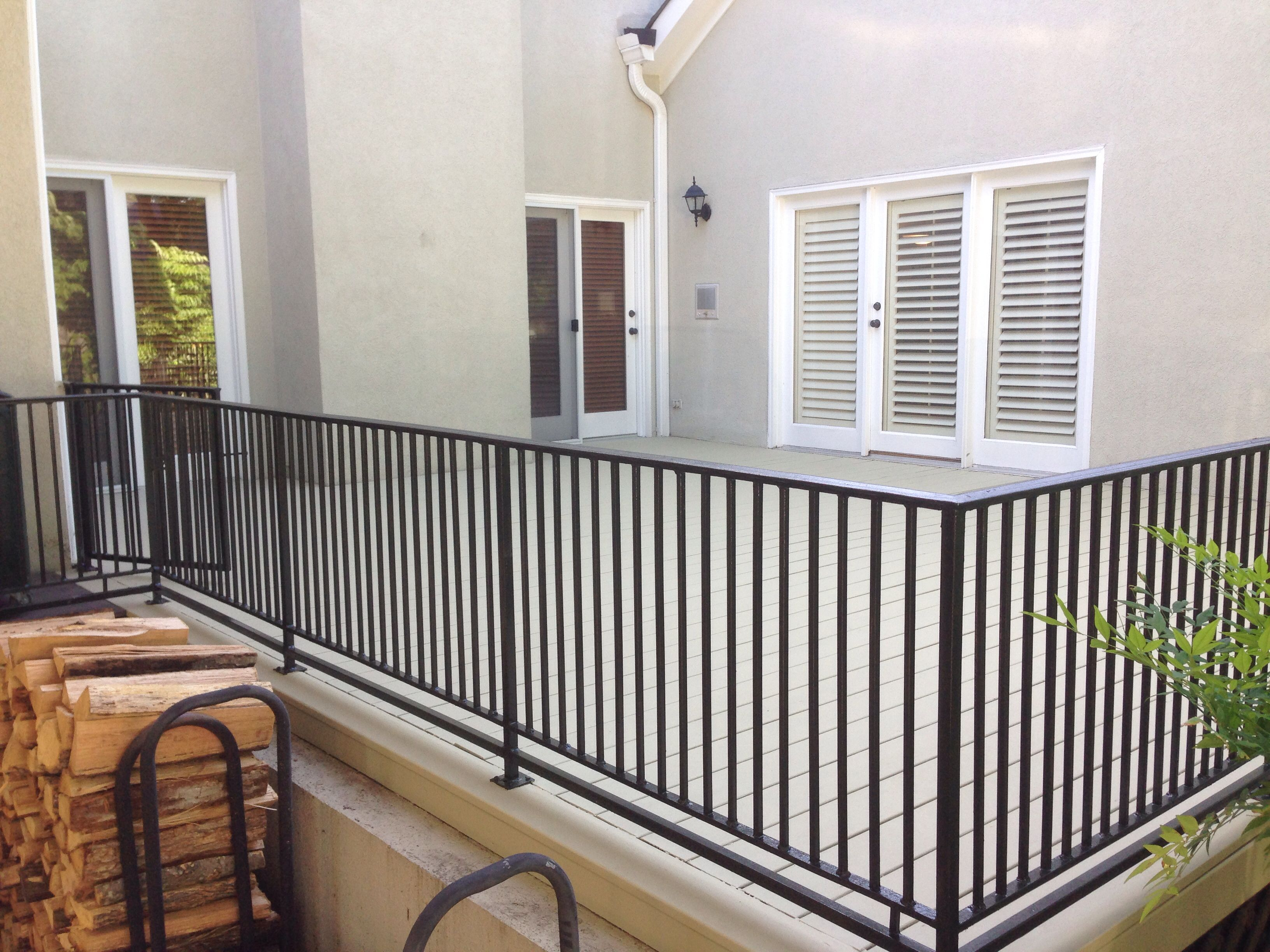 This Deck Was Coated With Bher Deck Over From Home Depot